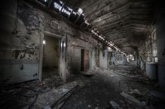 Segregation ward at abandoned sanatorium W