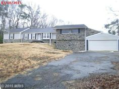 Interesting floor plan and two 2-car garges! 1790 SOLLERS WHARF ROAD, LUSBY, MD 20657 | somdrealestatenetwork.com #somdforsale #somdrealestate