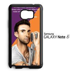 ADAM LEVINE MAROON 5 Y2301 Samsung Galaxy Note 5 Case