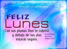 Centro Cristiano para la Familia: Feliz Lunes con Promesa de Dios  Feliz Lunes con P...