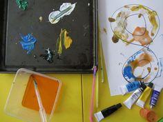 Malowanie rurkami - baw się, rozmawiaj i ucz!