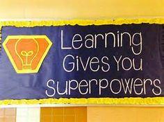 superhero bulletin board - Bing images