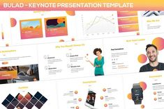 Bulad - Multipurpose Keynote Template by SlideFactory on Envato Elements Presentation Design Template, Design Templates, Image Layout, Script Type, Creative Sketches, Business Brochure, Keynote Template, Color Themes, Free Design