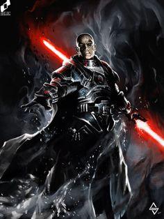 Sith Lord by Michał Sztuka