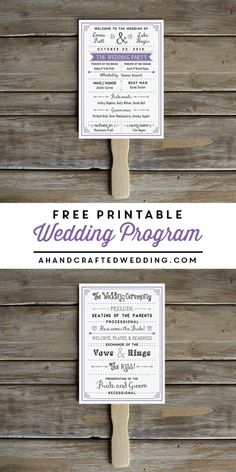 free-printable-diy-lavender-wedding-program-fan-ahandcraftedwedding