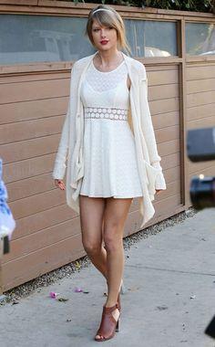 Le look printanier de Taylor Swift