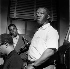 Cedar Walton, Wayne Shorter and Art Blakey during the Jazz Messengers' Indestructible session, Englewood Cliffs NJ, May 15 1964 (photo by Francis Wolff) Jazz Artists, Jazz Musicians, American Idioms, Francis Wolff, Jazz Cat, A Love Supreme, Wayne Shorter, Jazz Radio, Lead Sheet