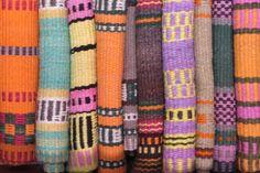 Tejidos Qomle'ec en lana de oveja y colores naturales, Chaco, Argentina