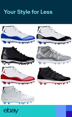 6b48e07b1 Jordan Retro 11 TD Cleats Mens Football Cleats