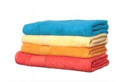 Combed Cotton Plain Towel.