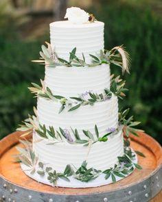 16 Rustic Wedding Cakes We're Loving   Martha Stewart Weddings
