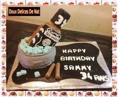 Gâteau Jack Daniel's :