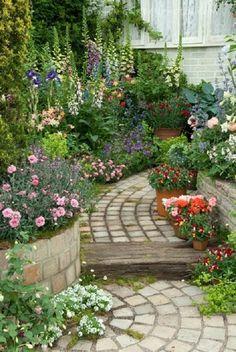 คนรักสวน - ตัวอย่างสวนดอกไม้