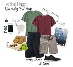 Hospital Bag for Daddies: Baby Baker Love