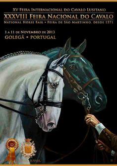 Golegã - National Horse Fair of the Lusitano Horse held in Portugal since 1571 Horse Head, Horse Art, Horse Anatomy, Horse Posters, Horse Drawings, Horse World, White Horses, Equine Art, Horse Love
