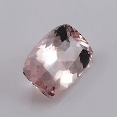 Brazilian Morganite Gemstone (7.25 ct) 14x12 mm Cushion Rated: 9 / 5 based on 9 customer reviews $410 In stock Product description: Morganite belongs to the same gemstone family as emerald, aquamarine