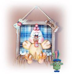 #quadroparacozinha #decoraçãodecozinha #coisasdecozinha #quadro #biscuit #cozinha #galinha #pintinho #fazendinha #enfeitedecozinha