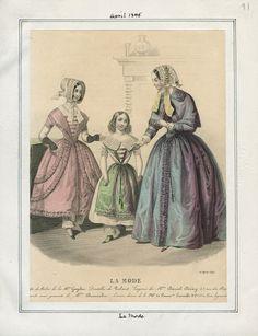 La Mode April 1845 LAPL
