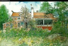 My Dream House painted over 100 years ago by Swedish artist Carl Larsson