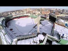 2015 Boston Winter by Drone | After over 100 inches of snow covered the city of Boston, Massachusetts in 2 short months, a drone took to the skies to capture the city blanketed in white