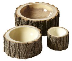 Log Bowls Large - Loyal Loot - bowls - home accessories - lille: a shop
