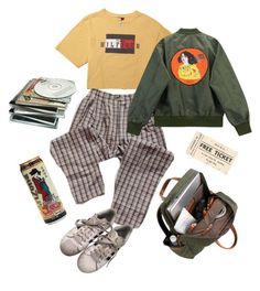 """Free ticket!"" by sborshevsky ❤ liked on Polyvore featuring adidas and Chicnova Fashion"