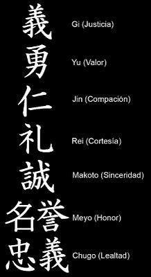 Las Siete Virtudes del Código Bushido Bushido Tattoo, Kanji Tattoo, Yakuza Tattoo, Tattoo Symbols, Forarm Tattoos, Body Art Tattoos, Sleeve Tattoos, Tatoos, Japanese Tattoo Art