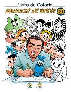 maurício 80 anos livro para colorir - Pesquisa Google