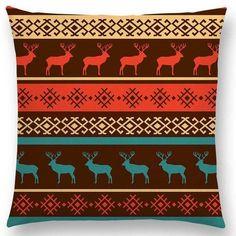Hot Sale Boho Primitive Geometric Pattern National Style Exotic Native Striped Navajo Arrow Cushion Home Decor Sofa Throw Pillow Cotton Pillow, Cotton Linen, Sofa Throw Pillows, Cushions, Cushion Covers, Pillow Covers, Tribal Wallpaper, Pink Art, Navajo