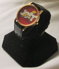 Rare Jolt Cola Wrist Watch with Leather Band and New Battery! #ImageWatchesofCalifornia