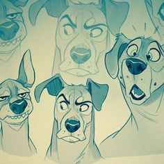 dog learning,dog tips,dog care,teach your dog,dog training Cartoon Dog, Cartoon Drawings, Cool Drawings, Dog Illustration, Character Illustration, Animal Sketches, Animal Drawings, Drawing Animals, Poses References