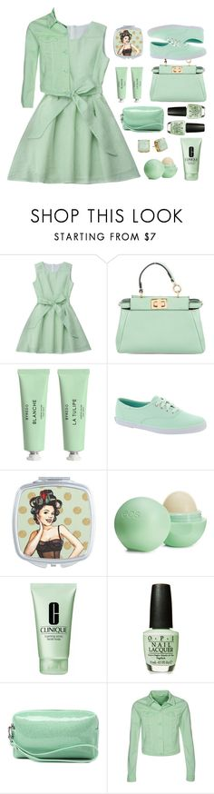 """""""Untitled #2240"""" by countrycousin ❤ liked on Polyvore featuring Fendi, Byredo, Keds, Eos, Clinique, Cars Jeans and Kate Spade"""