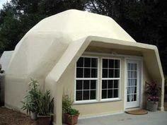 22 Ft Dome is tornado, hurricane and earthquake resistent. Cuts heating and cooling costs 50% to 70%.