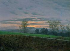 Plowed field - Caspar David Friedrich (1774-1840)