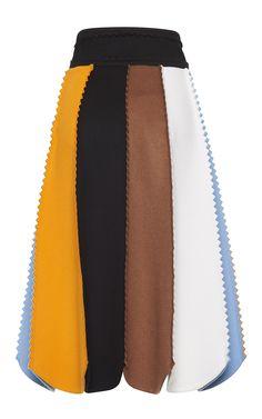Salvatore Ferragamo Zig Zag Skirt  $1,450