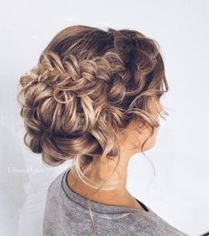 wedding hair wedding hair hair and makeup hair style for short hair hair idea wedding hair updos hair styles wedding hair dos Braided Hairstyles For Wedding, Pretty Hairstyles, Braided Updo, Elegant Hairstyles, Hairstyle Ideas, Updos Hairstyle, Bridesmaids Hairstyles, Cute Hairstyles For Prom, Makeup Hairstyle