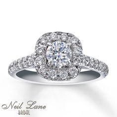 Kay - Diamond Engagement Ring 1 1/8 ct tw Round-Cut 14K White Gold