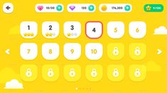 Buy GUI Kit Yellow Kid by yuhyunseok on GraphicRiver. GUI Kit Yellow Kid high-resolution graphics 545 sources as PNG 72 button icons 24 sources as PSD Game Interface, Interface Design, Mobile App Design, Mobile Ui, Mobile Game, Game Gui, Game Ui Design, Ui Kit, Math Games