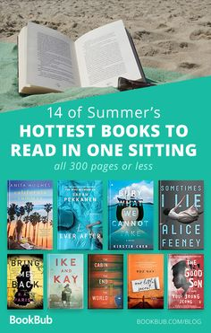 These short novels are perfect when you want to read a book in one sitting. They are light, fast, but some of the best books out there. They will make great quick beach reads! #beachreads #summerreading #bookrecs #mustread