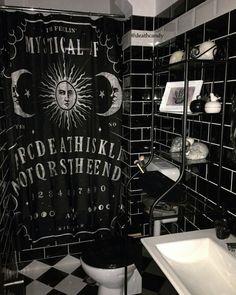 gothic home decor homedecor home decor Gothic bathroom decor Gothic Bathroom Decor, Goth Home Decor, Gothic Room, Gothic House, Decoration Ikea, Gothic Furniture, Modern Furniture, Furniture Design, Ouija
