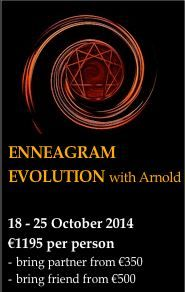 Enneagram Evolution - more than just personality typing.  The enneagram is a dynamic model that can be applied to all aspects and phases of life.  This week will open your eyes to new understanding of the self and life cycles.  PLUS daily yoga, gourmet veggie food, a body work session AND a 1-1 coaching session!