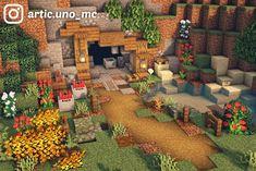 Minecraft House Plans, Minecraft Farm, Minecraft Cottage, Minecraft Houses Survival, Cute Minecraft Houses, Minecraft House Tutorials, Minecraft House Designs, Amazing Minecraft, Minecraft Construction