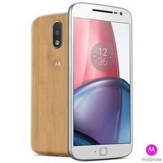 "Moto G4 Plus Bamboo, 5,5"", 32GB, Câmera de 16MP"