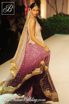 Meera & Muzaffar Ali's Collection at Aamby Valley India Bridal Fashion Week, 2013