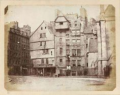 West Bow, Edinburgh, Scotland. 1840's.