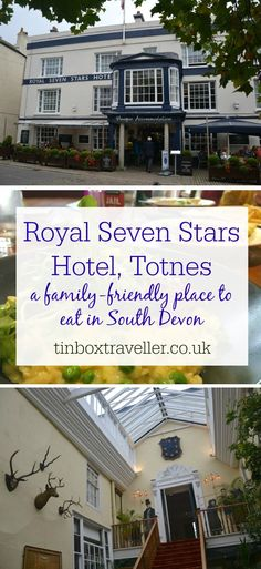 A family-friendly lunch at the Royal Seven Stars Hotel in Totnes. A perfect place to eat during the Round Robin tour with Dartmouth Steam Railway #Totnes #visitTotnes #SouthDevon #foodie #foodreview #hotel #hotelreview