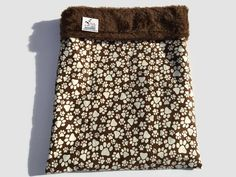 Burrow Bag, Snuggle Sack, Chihuahua Sack, Paw Print Fabric, Guinea Pig Bed, Dog Sleeping Bag, Cat Den, Pet Bed Warmer, Dog Cave Bed #CatDen #DogSleepingBag #PawPrintFabric #DogCaveBed #FlannelSnuggleSack #PetBedWarmer #DoxieBedWarmer #DoxieBurrowBag #HedgehogBed #WeenieBed