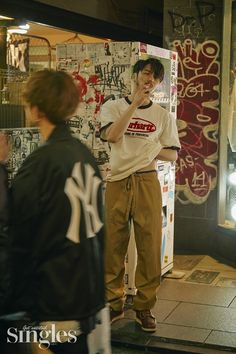 Japan Fashion, 90s Fashion, Vintage Fashion, Fashion Outfits, Byun Yo Han, Korean Men Hairstyle, Aesthetic People, Japanese Streets, Japanese Aesthetic