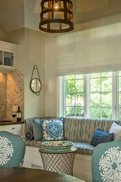 Nautical details inside a waterfront home on Cape Cod. ((Interior ...