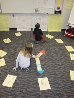 Mrs. T's First Grade: Telling Time: Human Clock